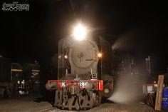 Victorian Goldfields Railway - K190 in the Maldon yard