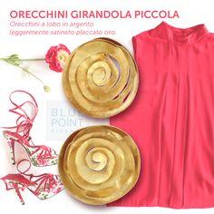 Orecchini GIRANDOLA PICCOLA | Design by G. Grande #bluepointfirenze #bpf #italianissimi #jewels #orecchini #fashionissimi #handmade #gioielloartigianale #outfit