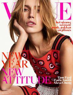 Vogue's nieuwe januari/februari nummer met model Cato van Ee staat bomvol met de beste mode van het nieuwe seizoen.