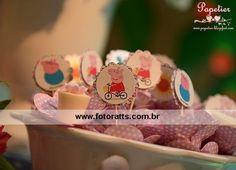 Festa Peppa Pig - Peppa Pig party Personalizados Papetier Decoração Tutti Bello