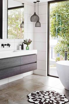 Luxe for less in the bathroom   Home Beautiful Magazine Australia
