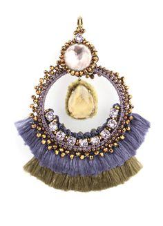 Satellite Paris - Les Boucles d'Oreilles Satellite: Indian princess chandeliers