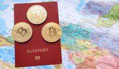 Second passport using bitcoin