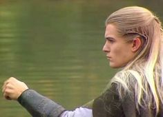 Orlando Bloom as Legolas Legolas And Thranduil, Fili And Kili, Fellowship Of The Ring, Lord Of The Rings, Tolkien, Orlando Bloom Legolas, The Ring Series, Thorin Oakenshield, Bilbo Baggins
