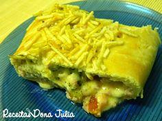#bomdia #receita #receitasdonajulia RECEITAS DONA JULIA - Blog de Culinária Gastronomia e Receitas.: BAGUETE RECHEADA