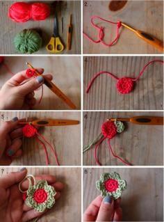 DIY Tutorial DIY Crochet Flowers / DIY Crochet Flowers DIY Crafts:DIY crochet a butterfly - Bead&Cord