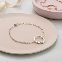 925 Silver Plt Bangle /'You Create Your Own Luck/' Elephant Engraved  Ladies Gift