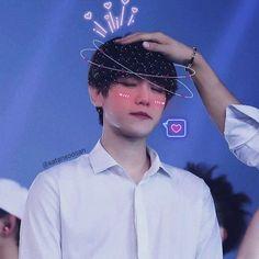 Exo Icons, Baekhyun, Bright Stars, Photo Effects, Love Of My Life, Kawaii, Kpop, Cute, Scrapbook