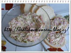 Food blog s recepty na vaření a pečení. Blog s recepty na rychlá domácí jídla. Soup And Sandwich, Soup Recipes, Potato Salad, Salads, Sandwiches, Toast, Food And Drink, Rice, Potatoes
