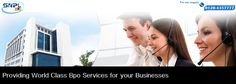 Providing World Class BPO Services for your Businesses...