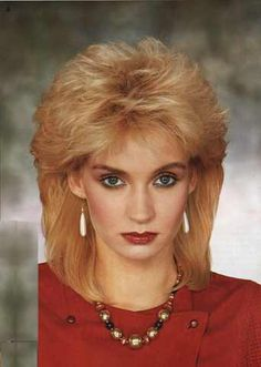 Superb 80S Hairstyles Medium Hairstyles And Hairstyles On Pinterest Hairstyle Inspiration Daily Dogsangcom