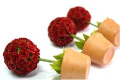 doll topiary | Red Roses Topiary, Romantic flowers-I Love You | minihandmade - Dolls ...