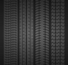 Wheel tire set - Patterns - 1