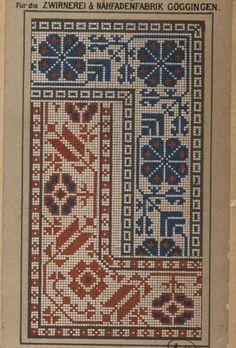Gallery.ru / Фото #35 - старинные ковры и схемы для вышивки - SvetlanN