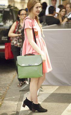 Moda en la calle desfile alta costura Christian Dior
