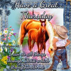 Good Morning Everyone, Happy Thursday. I pray that you have a safe and blessed day!!