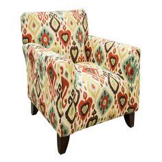 Contemporary Accent Chair in Dijango Persian | Nebraska Furniture Mart