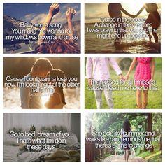 Some of my favorite song lyrics