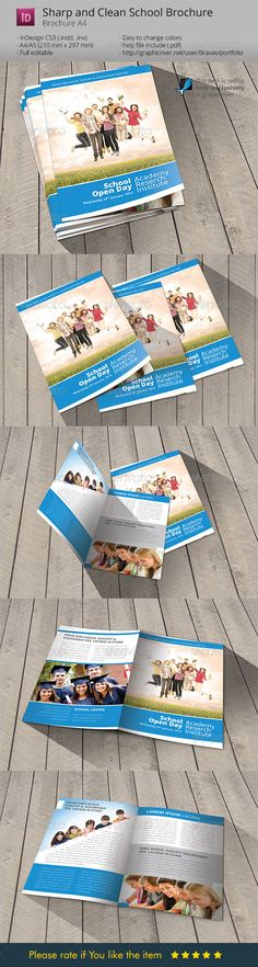 school welcome brochure template by braxas school brochure indesign template details fully editable indesign file