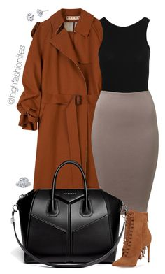 """Timeless"" by highfashionfiles ❤ liked on Polyvore featuring Marni, New Look, Givenchy, Alexandre Birman and Harry Kotlar"