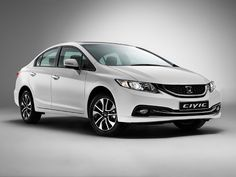 2014 White Honda Civic HD Pictures