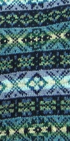 Gorgeous #fairisle pattern