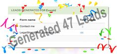 We generated 47 leads for you  #congratulation #LegalShield associate Everald unlimited lead generation https://salesexpert.me/legalshield.php