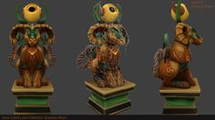 Dark Lotus Collection: Guardian Ward (Low Poly) by Elliot3D on DeviantArt