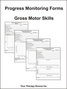 Progress Monitoring Forms – Gross Motor Skills