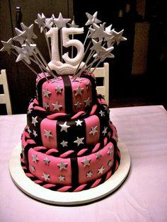 Nuevas Tendencias en Decoración de Tortas: Tortas  de Cumpleaños de 15 - 2016 Fondant Cakes, Cupcake Cakes, Cupcakes, Beautiful Cakes, Amazing Cakes, Cakes For Teenagers, Paris Cakes, Fancy Cakes, Home Interior