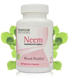 Neem - Skin Purifier, Acne herbal treatment, Skin Diseases | Ayurvedic Natural Cure Supplements