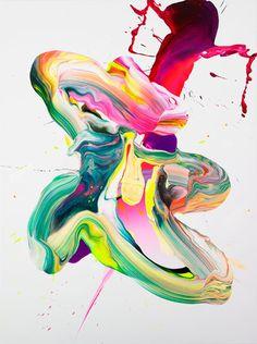 El hiperpantone abstracto de Yago Hortal