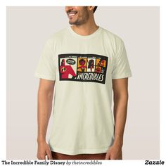 The Incredible Family Disney T-Shirt. Are you a fan of The Incredibles? Here are cool customizable designs that makes perfect gifts for friend, families or yourself. Personalized Products, Fitness Models, The Incredibles, Disney Pixar, Casual, Sleeves, Families, Birthday Gifts, Cotton