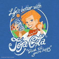 Joja Cola By Nina Matsumoto at The Yetee!