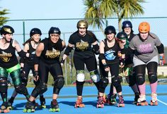 Women in Sport Week has kicked off. What better way to celebrate than a pic of the Cornwall Roller Derby girls who will be putting on a bout in aid of Macmillan Cancer Support on Sunday 2 Aug from 1pm at Gylly Tennis Courts for #ZestiFAL. Go girls!