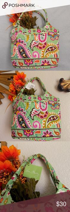 Vera Bradley Tutti Frutti  Tote New with tags.  No stains or holes. From a smoke free home. Bottom W 9, L 7. Vera Bradley Bags Totes