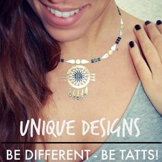 BE DIFFERENT, BE TATTS⭐️ Unique designs for unique people❤️ #thursday #tatts #tattsbarcelona #trendy #tendencias #amazing #cool #instacool #instagood #inspiration #instafollow #instafashion #igers #smile #style #good #aztec #collection #fashion #look #love #inspiration #repost #letstatts #unique #designs