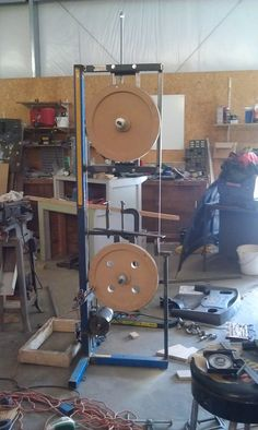 "My Homemade 18"" Band saw"