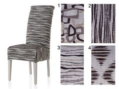 Seat Covers, Slipcovers, Dining Chairs, Html, House, Organization, Furniture, Crochet, Home Decor