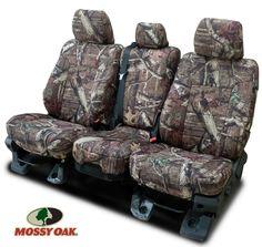 2010 - 2013 Silverado Mossy Oak Neoprene Front Seat Covers