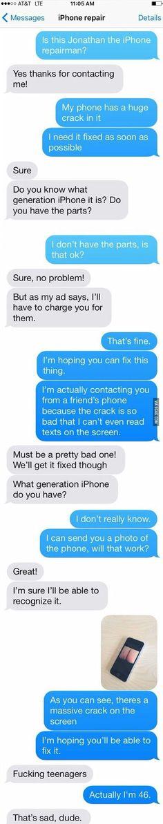 A huge crack... - 9GAG