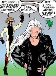 Rose Wilson and Impulse - The New Titans #126
