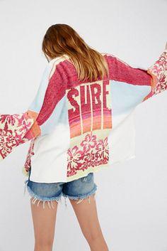 Surf Sweater Kimono
