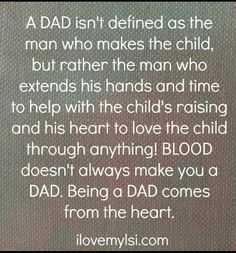 My kids lost their dad at a young age.  They are so lucky to have a wonderful stepdad!