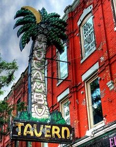 The legendary El Macombo Tavern (The Elmo) 464 Spadina Ave, Toronto. Home to great blues and rock bands, including the Stones