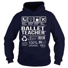 Awesome Shirt For Ballet Teacher T Shirts, Hoodies Sweatshirts