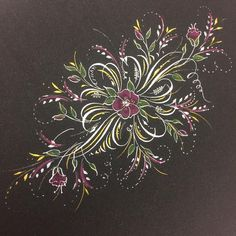Flourishes with bells & whistles (color pencil, FineTec gold, Gelly Roll Stardust pen & Swarovski crystal!) by Heather Held. Calligraphy Qoutes, Flourish Calligraphy, Copperplate Calligraphy, Calligraphy Drawing, Calligraphy Letters, Penmanship, Finetec Watercolor, Lost Art, Pen Art