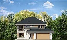 Projekt domu Sydney 267,35 m2 - koszt budowy - EXTRADOM Sydney, Gazebo, Shed, Outdoor Structures, Cabin, House Styles, Outdoor Decor, Dom, Design