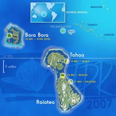 Raiatea | ... Polynesia >> Raiatea, Tahaa (French Polynesia) > Map Raiatea Tahaa.jpg