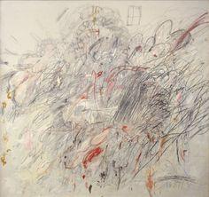 tremendousandsonorouswords:Cy Twombly, Leda and the Swan, 1962
